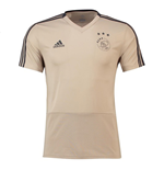 2018-2019 Ajax Adidas Training Shirt (Raw Gold)