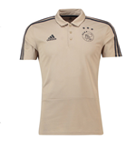 2018-2019 Ajax Adidas Polo Shirt (Raw Gold)