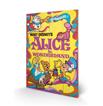 Alice in Wonderland Print on wood 296893