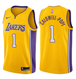 Men's Los Angeles Lakers Kentavious Caldwell-Pope Nike Icon Edition Replica Jersey