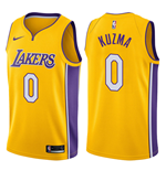 Men's Los Angeles Lakers Kyle Kuzma Nike Icon Edition Replica Jersey