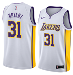 Men's Los Angeles Lakers Thomas Bryant Nike Association Edition Replica Jersey