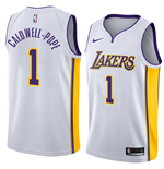 Men's Los Angeles Lakers Kentavious Caldwell-Pope Nike Association Edition Replica Jersey