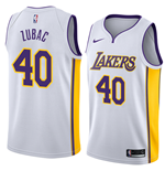 Men's Los Angeles Lakers Ivica Zubac Nike Association Edition Replica Jersey