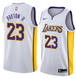 Men's Los Angeles Lakers Gary Payton II Nike Association Edition Replica Jersey