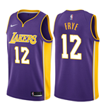 Men's Los Angeles Lakers Channing Frye Nike Statement Edition Replica Jersey