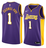 Men's Los Angeles Lakers Kentavious Caldwell-Pope Nike Statement Edition Replica Jersey