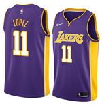 Men's Los Angeles Lakers Brook Lopez Nike Statement Edition Replica Jersey