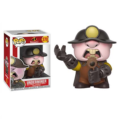 INCREDIBLES 2 Underminder Funko Pop Figure Toy
