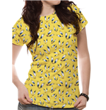 Looney Tunes - Tweety Face Sublimated - Women Fitted T-shirt White