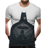 Batman - Silhouette Sublimated - Unisex T-shirt White