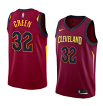 Men's Cleveland Cavaliers Jeff Green Nike Icon Edition Replica Jersey