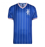 Score Draw Rangers 1984 League Cup Final Home Shirt