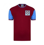 Score Draw West Ham 1966 Home Football Shirt