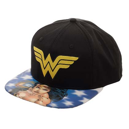 WONDER WOMAN Lenticular Bill Hat