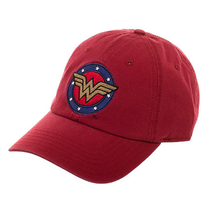 WONDER WOMAN Large Logo Dad Hat