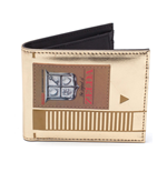 NINTENDO Legend of Zelda Men's Cartridge Bi-fold Wallet, Gold