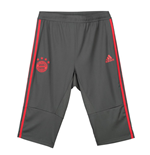 2018-2019 Bayern Munich Adidas Three Quarter Length Training Pants (Utility Ivy)