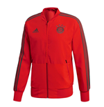 2018-2019 Bayern Munich Adidas Presentation Jacket (Red) - Kids