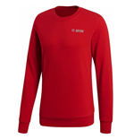 2018-2019 Bayern Munich Adidas Lifestyle Sweat Top (Red)