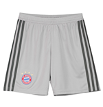 2018-2019 Bayern Munich Adidas Home Goalkeeper Shorts (Grey) - Kids