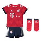 2018-2019 Bayern Munich Adidas Home Baby Kit