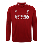 2018-2019 Liverpool Home Long Sleeve Shirt (Kids)