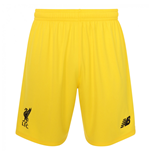 2018-2019 Liverpool Home Goalkeeper Shorts (Yellow) - Kids