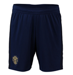 2018-2019 Man Utd Adidas Third Shorts (Navy)