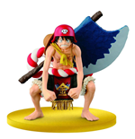 One Piece Film Gold SCultures Figure Big Zoukeio Special Luffy 12 cm