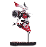 DC Comics Red, White & Black Statue Harley Quinn by Babs Tarr 21 cm
