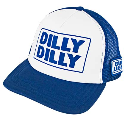 BUD LIGHT Snapback Dilly Dilly Trucker Hat