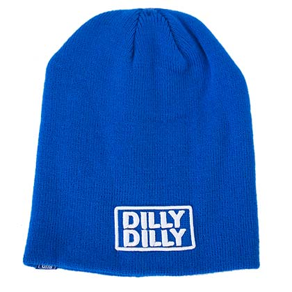 BUD LIGHT Blue Dilly Dilly Beanie