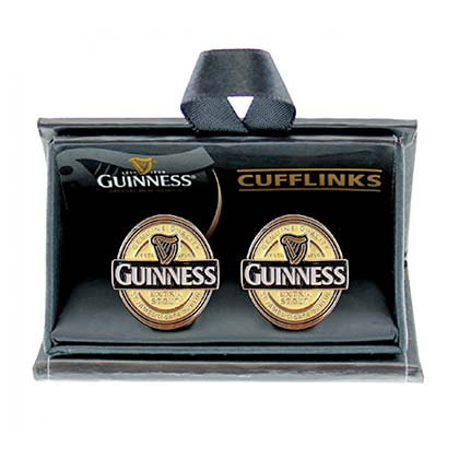 GUINNESS Beer Label Men's Cufflinks