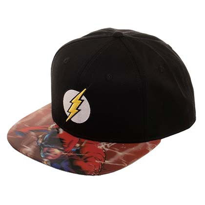 The FLASH Lenticular Bill Moving Image Brim Hat
