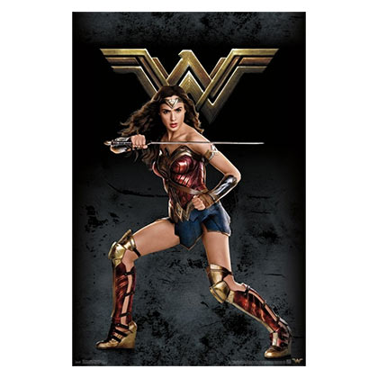 WONDER WOMAN 23x34 Justice League Poster