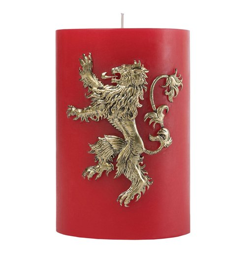 Game of Thrones XL Candle Lannister 15 x 10 cm
