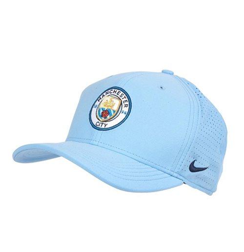 Buy Official 2018-2019 Man City Nike Aerobill CLC99 Cap (Blue) 9146a46f474