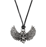 Airbourne - Winged Skull - Necklace