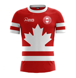 2018-2019 Canada Home Concept Football Shirt (Kids)