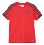 2018-2019 Bayern Munich Adidas Training Tee (Red) - Kids