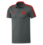 2018-2019 Bayern Munich Adidas Training Polo Shirt (Utility Ivy)