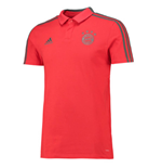 2018-2019 Bayern Munich Adidas Training Polo Shirt (Red)
