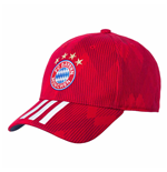 2018-2019 Bayern Munich Adidas 3S Cap (Red)