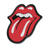 The Rolling Stones Standard Patch: Classic Tongue (Iron On)
