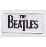 The Beatles Standard Patch: Drop T Logo (Iron On)