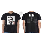 Marilyn Manson Men's Tee: Heaven Upside Down Tour (Winter 2017) (Ex Tour/Back Print)