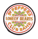 The Beatles Standard Patch: Sgt Pepper Drum