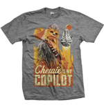 Star Wars Men's Tee: Solo Chewie Co-Pilot