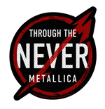 Metallica Standard Patch: Through the Never (Loose)